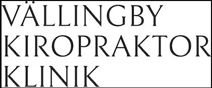 Vällingby Kiropraktorklinik logo